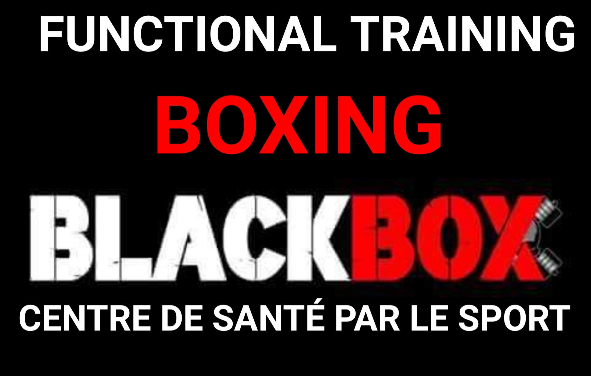 FUNCTIONAL TRAINING BOXING